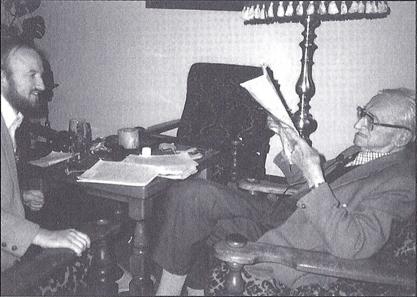 MAS_with_Friedrich Hayek_Austria_1985_01