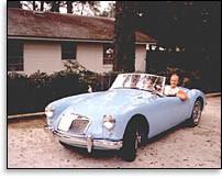 Mark in 1958 MGA