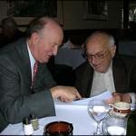 Mark Skousen and Milton Friedman