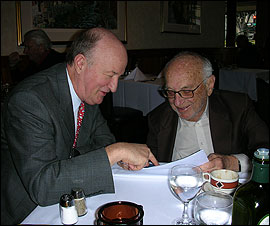 Mark Skousen and Milton Friedman